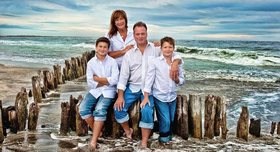 Family Beach Photo Ideas
