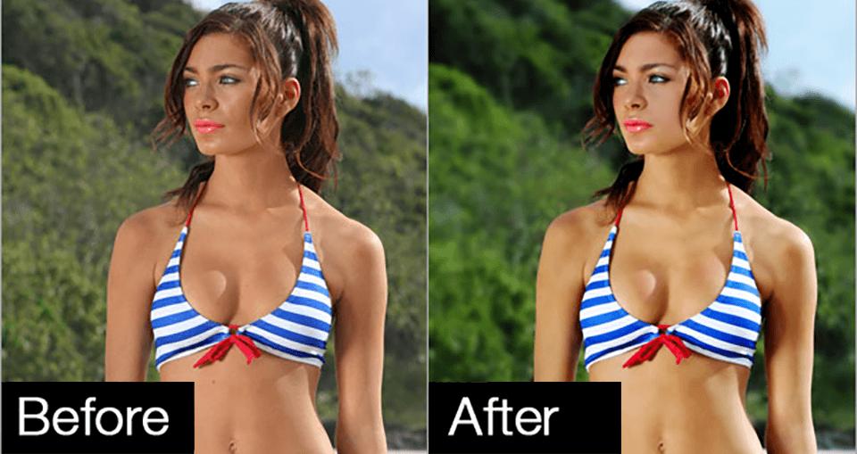 Professional Photo Bikini Model