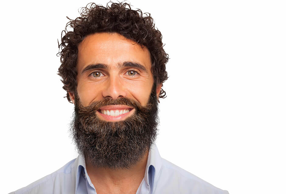 Photo Example after the use of Beard Retouching Feature