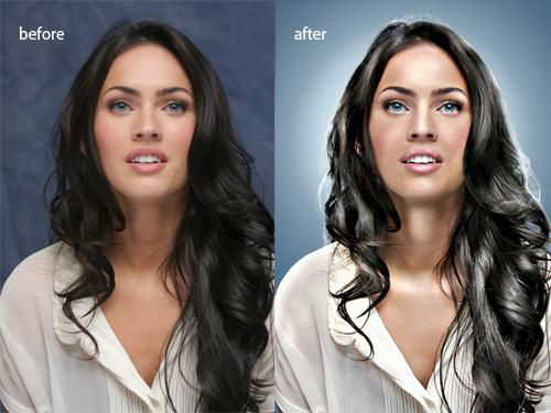 Difference between editing and retouching