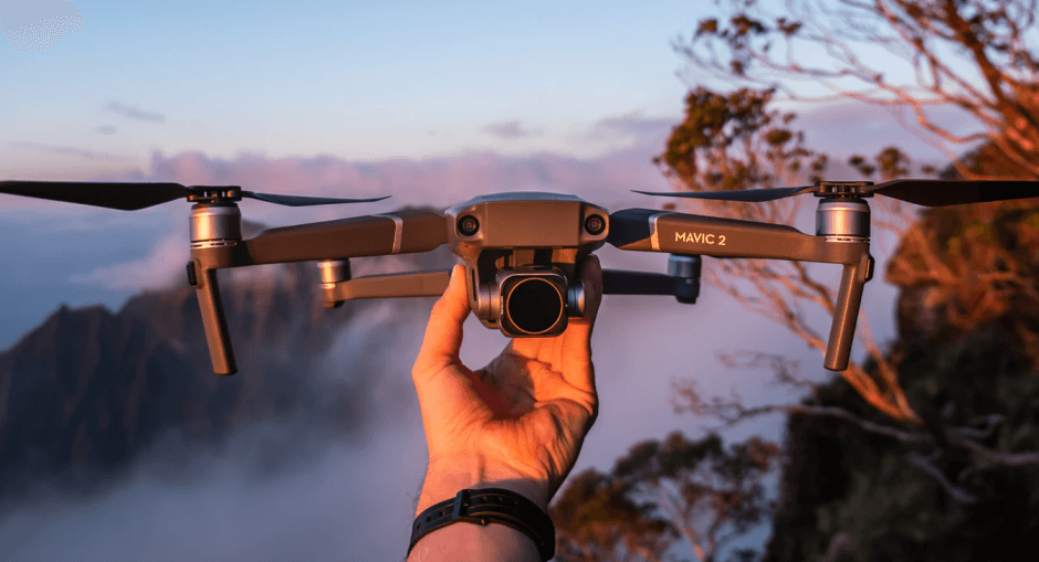 Drones aerial photography