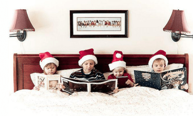 Children christmas picture ideas