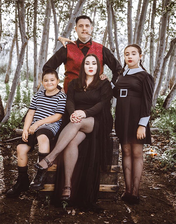 Family Halloween portrait ideas