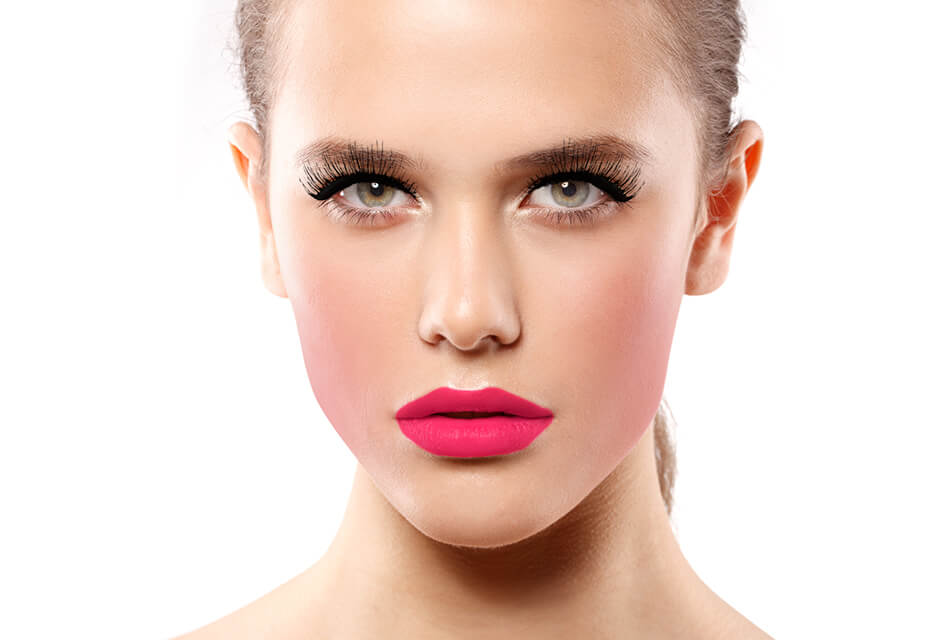 Photo Example after the use of Eyelashes Retouching Feature